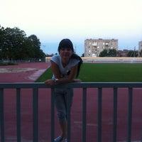 Photo taken at Центральный стадион by Alena A. on 6/5/2013