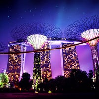 Photo taken at Gardens by the Bay by Hugo C. on 6/23/2013