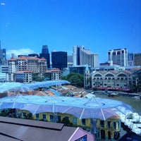 Photo taken at Novotel Singapore Clarke Quay by Hugo C. on 5/13/2013