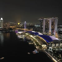 Photo taken at Marina Bay Financial Centre (MBFC) Tower 1 by Hugo C. on 12/18/2016
