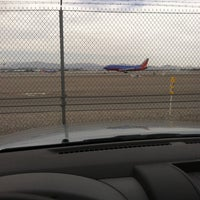 Photo taken at McCarran Airport Runway Observation by Mike H. on 5/4/2014