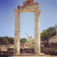 Photo taken at Ancient Agora by Francois-xavier D. on 8/7/2013