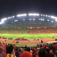 Photo taken at Stadium Mini Shah Alam by Shell S. on 10/30/2016
