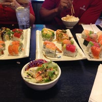 Photo taken at Sushi Deli 1 by Carissa C. on 6/3/2013