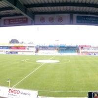 Photo taken at FRIMO Stadion by Samla Fotoagentur w. on 8/22/2014