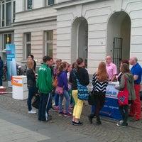 Photo taken at Rathaus Krefeld by Samla Fotoagentur w. on 4/4/2014