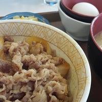 Photo taken at すき家 富山新屋店 by Naoki N. on 1/6/2014