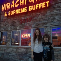 Photo taken at Hibachi Grill And Supreme Buffet by Gabriel W. on 2/20/2014