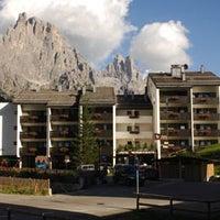 Photo taken at Residence Lastei by Residencehotel nelle Dolomiti on 9/11/2013