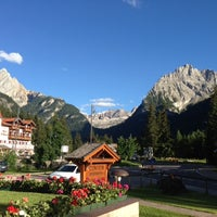 Photo taken at Residence Contrin by Residencehotel nelle Dolomiti on 9/11/2013