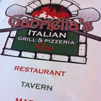 Photo taken at Gabriella's Italian Grill by Mills G. on 4/12/2013