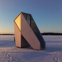 Снимок сделан в Aurinkolahden uimaranta пользователем Tapio T. 1/20/2013