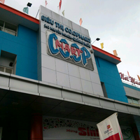 Photo taken at Coopmart Quảng Ngãi by Andy N. on 4/13/2013
