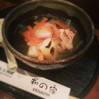 Photo taken at kazunoya - 和の家(かずのや) by Takahashi Y. on 1/3/2013
