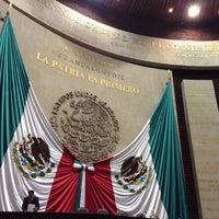 Photo taken at Palacio Legislativo De San Lázaro by Johan D. on 11/28/2013