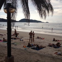 Photo taken at patong beach by Лариса П. on 11/14/2014