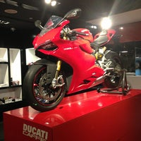 Photo taken at Ducati Caffe by Anyuta M. on 9/10/2013