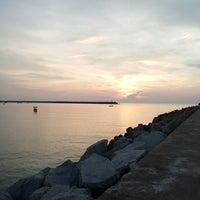 Photo taken at Pelabuhan Chendering by TipTop C. on 6/4/2014