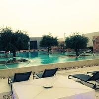 Photo taken at Aloft Abu Dhabi by Lorina R. on 1/29/2013