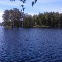 Photo taken at Våtsjön by Peter A. on 6/10/2014