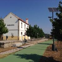 Photo taken at Antiga Estação da CP de Sabugosa by Rodrigo G. on 9/7/2013