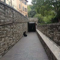Photo taken at Scale Mobili Rocca Paolina by ik0mmi a. on 10/11/2012