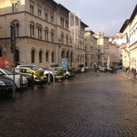 Photo taken at Piazza Giacomo Matteotti by ik0mmi a. on 12/14/2012