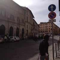 Photo taken at Piazza Giacomo Matteotti by ik0mmi a. on 9/30/2012