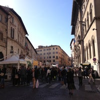 Photo taken at Piazza Giacomo Matteotti by ik0mmi a. on 10/20/2012