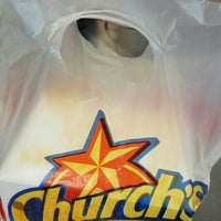 Photo taken at Church's Chicken by Emma A. on 3/13/2016