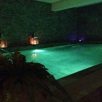 Photo taken at Ki Spa @ Hotel Mamiani **** by Matteo R. on 8/17/2013