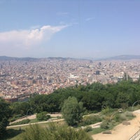 Photo taken at Parc de Bombers de Montjuïc by Firdevs D. on 7/8/2013