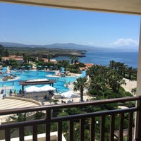 Photo taken at Iberostar Creta Panorama by Leo C. on 6/9/2017