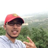 Photo taken at Chamundi Hills by Kashyap M. on 7/19/2014