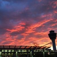 Photo taken at Munich Franz Josef Strauss Airport (MUC) by Christopher L. on 4/22/2015