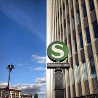 Photo taken at Berlin Friedrichstraße Railway Station by Stefan M. on 9/30/2012