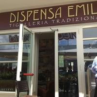 Photo taken at Dispensa Emilia by Giangi C. on 5/29/2013