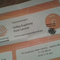 Photo taken at Volley Asse Lennik by Vanessa W. on 12/7/2013