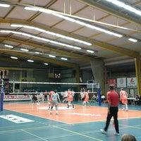 Photo taken at Volley Asse Lennik by Vanessa W. on 11/27/2013
