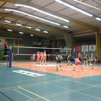 Photo taken at Volley Asse Lennik by Vanessa W. on 1/4/2014