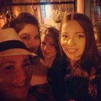 Photo taken at BackStreet Café by Katerina J. on 6/14/2014