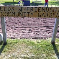 """Photo taken at """"Seeds of Friendship"""" Community Garden by Kate V. on 5/19/2013"""