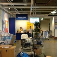 Photo taken at IKEA Warenausgabe by Tina S. on 8/10/2013