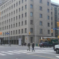 Photo taken at Church St & Bloor by Thomas W. on 5/13/2013