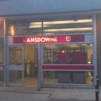 Photo taken at Lansdowne Subway Station by Thomas W. on 10/7/2013
