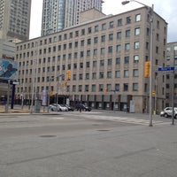 Photo taken at Church St & Bloor by Thomas W. on 4/13/2014