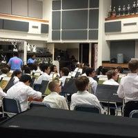 Photo taken at Garland High School by Daryn D. on 3/26/2015