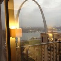 Photo taken at Crowne Plaza St. Louis - Downtown by Ashliegh M. on 1/12/2013