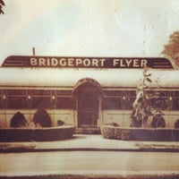 Photo taken at Bridgeport Flyer Diner by Sarah on 9/17/2012