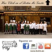 Photo taken at Restaurante Botín by Restaurante Botín on 7/1/2013